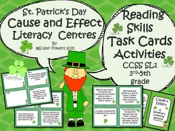 St. Patrick's Day Cause and Effect Centers Activities for