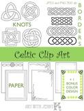 Celtic Clip Art - Great for St. Patricks Day