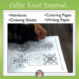 Celtic Knots Drawing Practice - Great St. Patricks Day Activity