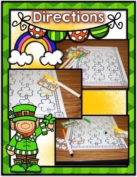 St. Patrick's Day Center ~ CVC Phonics