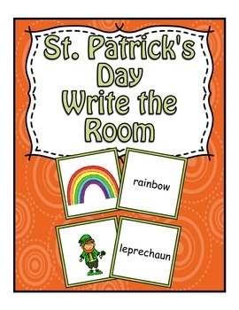 St. Patrick's Day Center ~ Write The Room