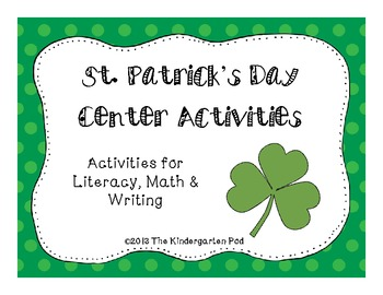 St. Patrick's Day Centers