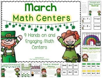 St. Patricks Day Centers BUNDLED