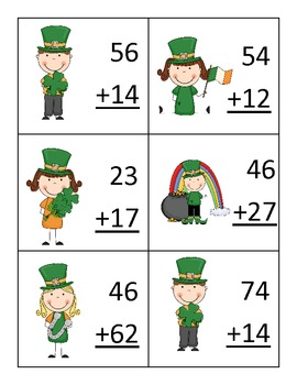 St. Patrick's Day Centers--Literacy and Math-11 Total Centers