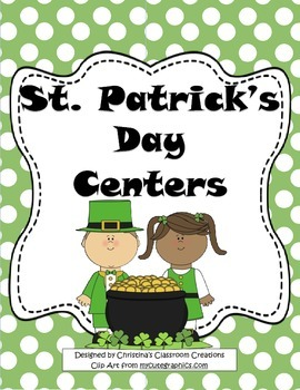 St. Patrick's Day Centers: Math, Literacy, and Art Activities