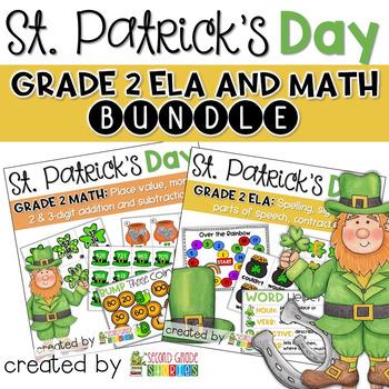 St. Patrick's Day Math and Language Arts