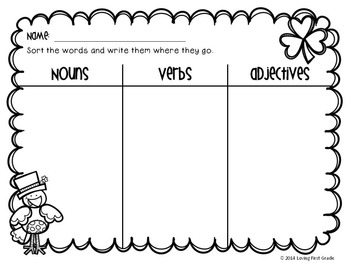 March Math & Literacy Centers and Printables