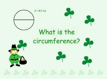 "St. Patrick's Day ""Circles"" Koosh Ball Game for the Interactive Whiteboard"