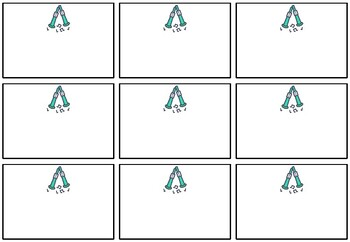 St. Patricks Day Classroom Labels, Name Tags, Stickers for Interactive Notebook