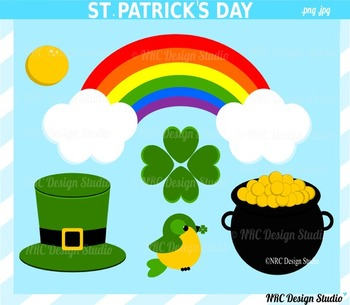 St. Patrick's Day clipart commercial use