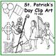 St. Patrick's Day Clip Art  Realistic Leprehaun St Patrick