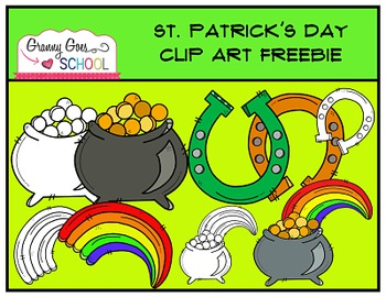 St. Patrick's Day Clip Art: FREEBIE