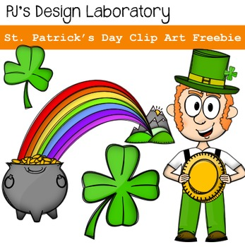 St. Patrick's Day Clip Art Freebie!