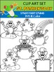 St. Patrick's Day Clip Art - Froggy