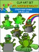 St. Patrick's Day Clip Art - Froggy