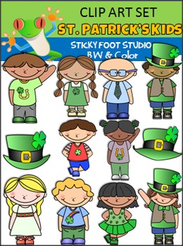 St. Patrick's Day Clip Art - Kids