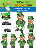 St. Patrick's Day Clip Art - Leprechauns
