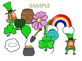 St. Patrick's Day Clip Art Pack
