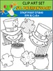 St. Patrick's Day Clip Art Starter Kit (Color and BW)