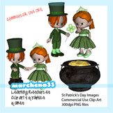 St Patrick's Day Clip Art for Commercial Use