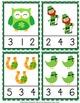 St Patricks Day Clip Cards Bundle