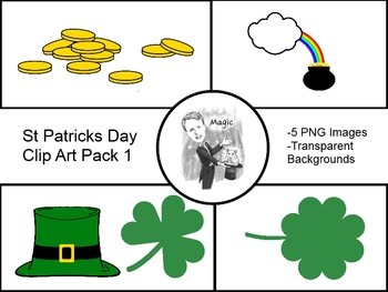 St Patricks Day ClipArt Pack 1