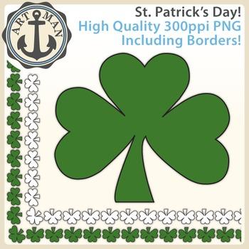 St. Patrick's Day Clipart {Anchor Art Man}