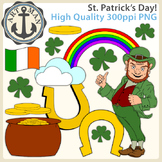 St. Patrick's Day Clipart {Anchor Art Man}