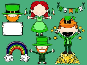St. Patrick's Day Clipart Collection for Commercial or Personal Use