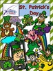 St. Patrick's Day Clipart {Keeping It Reel}