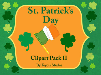 St. Patrick's Day Clipart Pack II