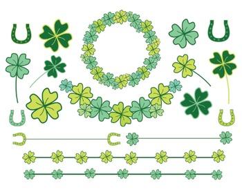 St. Patricks Day Clipart Set #222