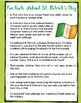 St. Patrick's Day Close Reading w/ Song Lyrics for 3rd-5th Grades