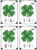 St. Patrick's Day Clover Fraction Addition Math Center (Co
