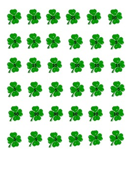 St. Patrick's Day: Clover Game