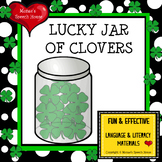 St. Patrick's Day CLOVERS EARLY READER Spatial Concepts