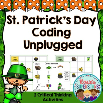 St. Patricks' Day Coding Unplugged