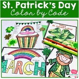 St. Patrick's Day Math Color by Code