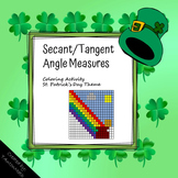 Secant/Tangent Angles Coloring Activity