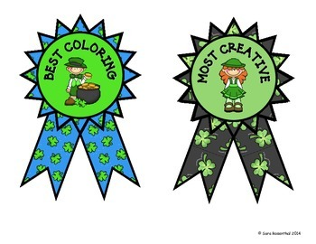 St. Patrick's Day Coloring Contest