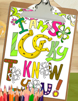 St Patricks Day Coloring Pages Relax and Unwind with Love
