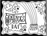 St. Patrick's Day Coloring Sheet
