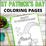 St Patrick's Day Coloring Activities