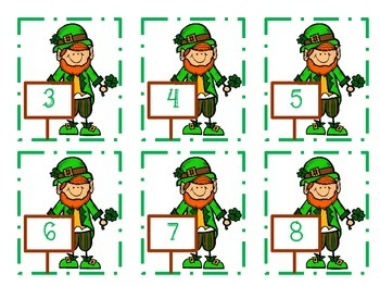 St. Patrick's Day Common Core Addition Math Tub-FREEBIE
