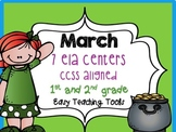 St. Patrick's Day Common Core Aligned ELA Centers for 1st & 2nd {7}