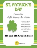 St. Patrick's Day Common Core ELA Activities