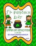 St. Patrick's Day Common Core Literacy Freebie