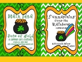 St. Patrick's Day Common Core Main Idea and Summarizing Bundle