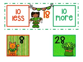 St. Patrick's Day Common Core Math Tubs