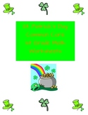 St. Patrick's Day Common Core Math Worksheets